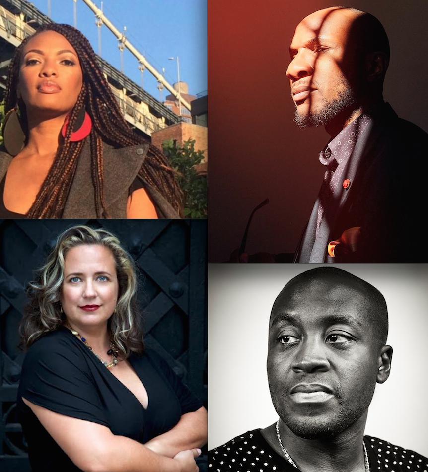 Shani Jamila, Teju Cole, Laura Raicovich, Larry Ossei-Mensah, Portals Exhibition