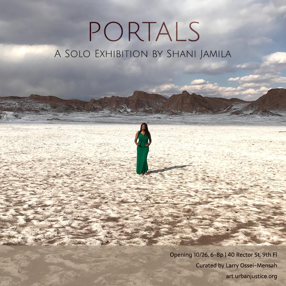 shani jamila solo show portals